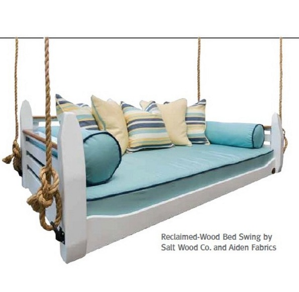 Bed swing packages customization options for Swinging bed frame