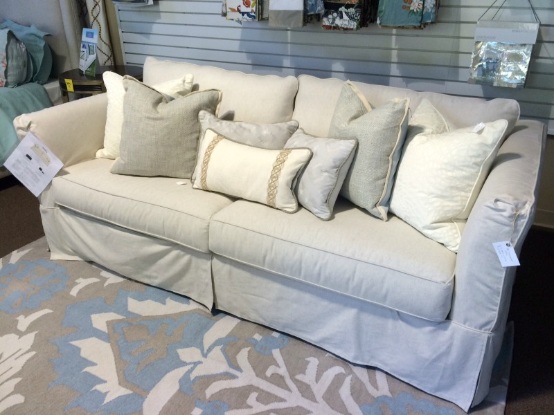 Even Our Favorite Rowe Sofas Can Be Received By Christmas As Long As The  Fabric Is In Stock! Get This Floor Sample Rowe Sofa Today Priced At $1795  With 20% ...