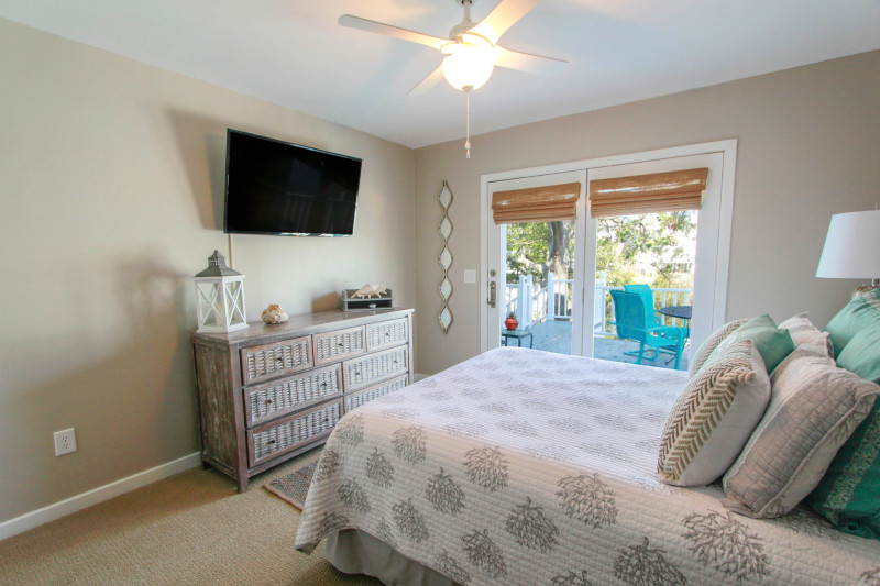 Isle of Palms Rental - Bedroom