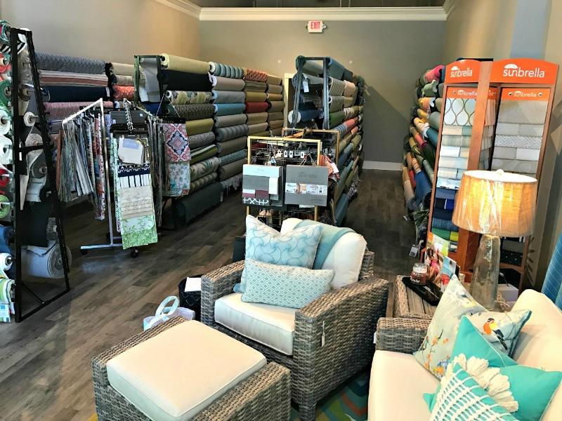 Sunbrella Outdoor Fabric Gallery is Open in Charleston