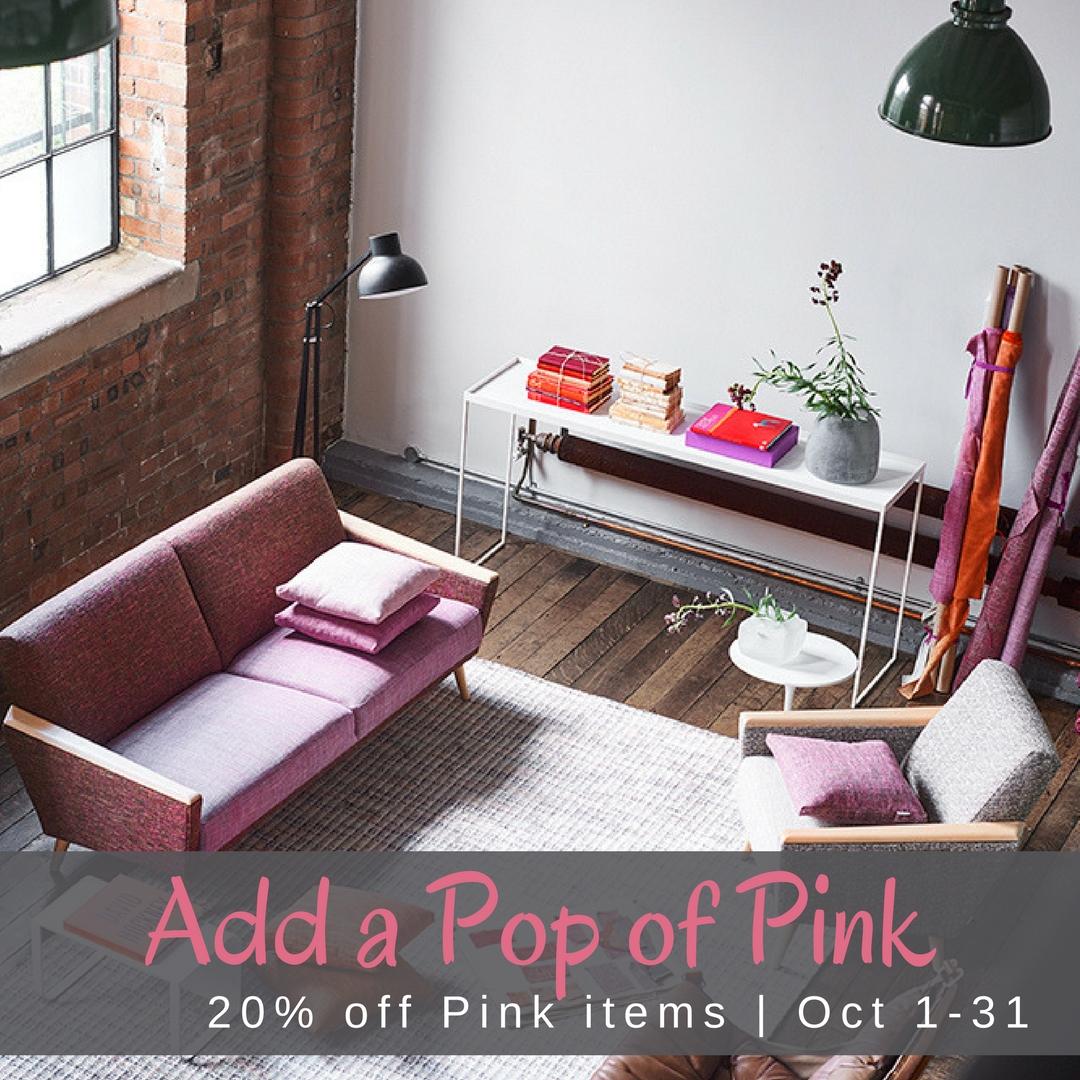 Pop of Pink - Social Blog