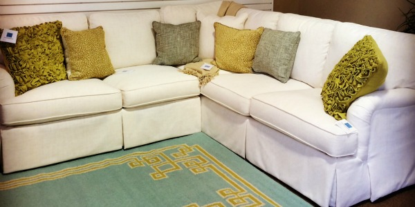 Tuesday Treat! Sam Moore Sectional.