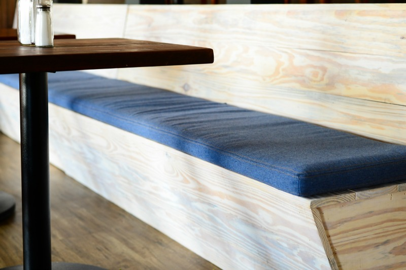 custom benches commercial