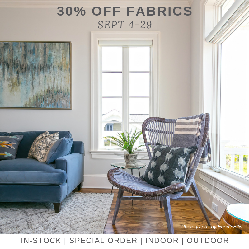 Charleston Fabric Sale