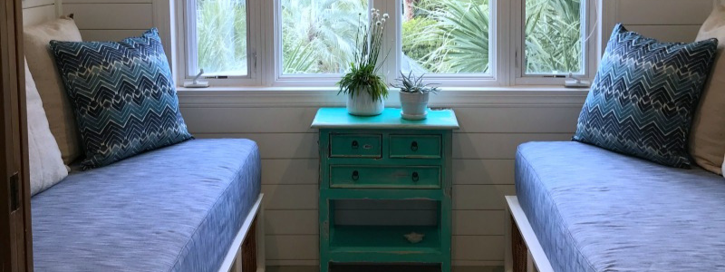 Isle of Palms Home Nook Makeover