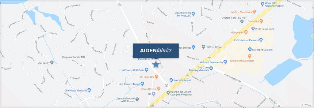 Aiden Fabrics Location