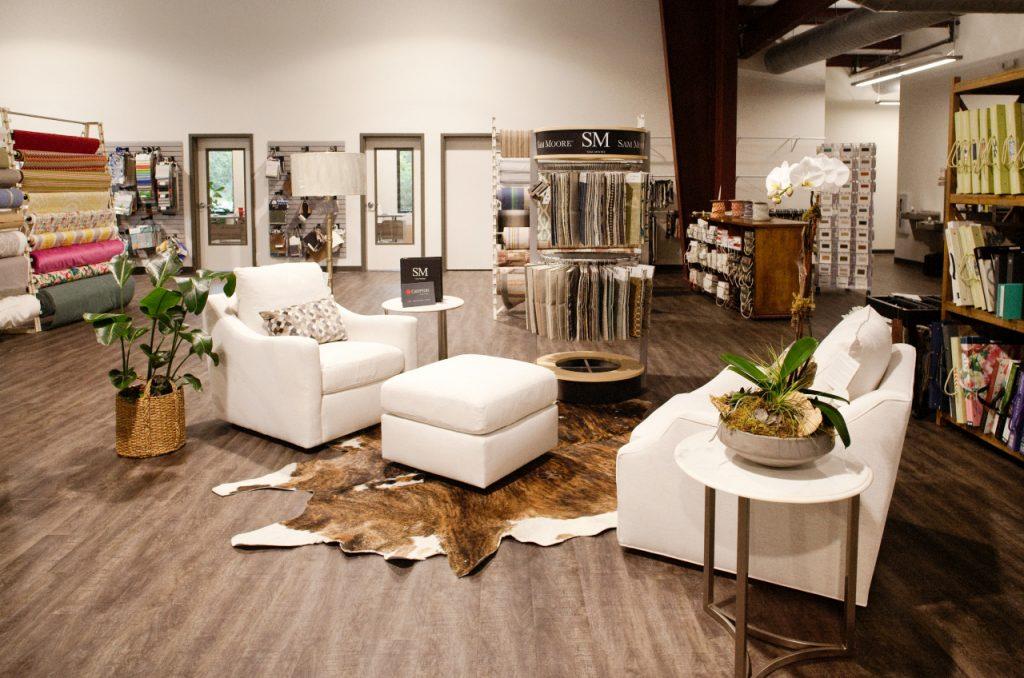 Sam Moore Furniture at Aiden Fabrics Showroom