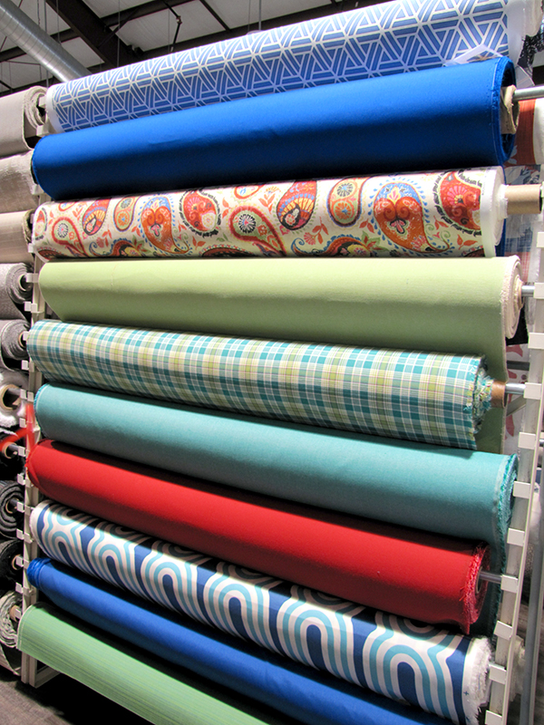 Outdoor Fabric Rack C