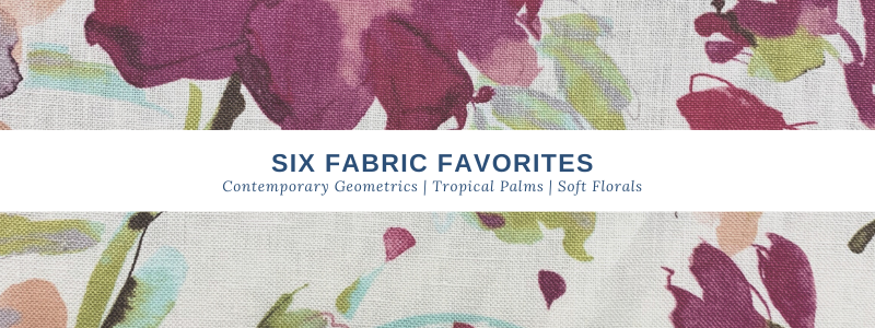 Six Must Have Spring Fabrics