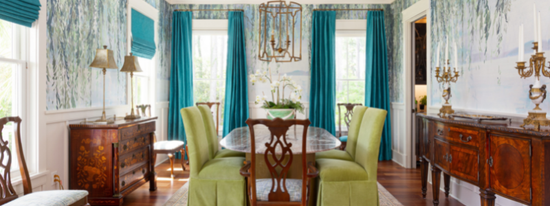 Colorful Home Makeover